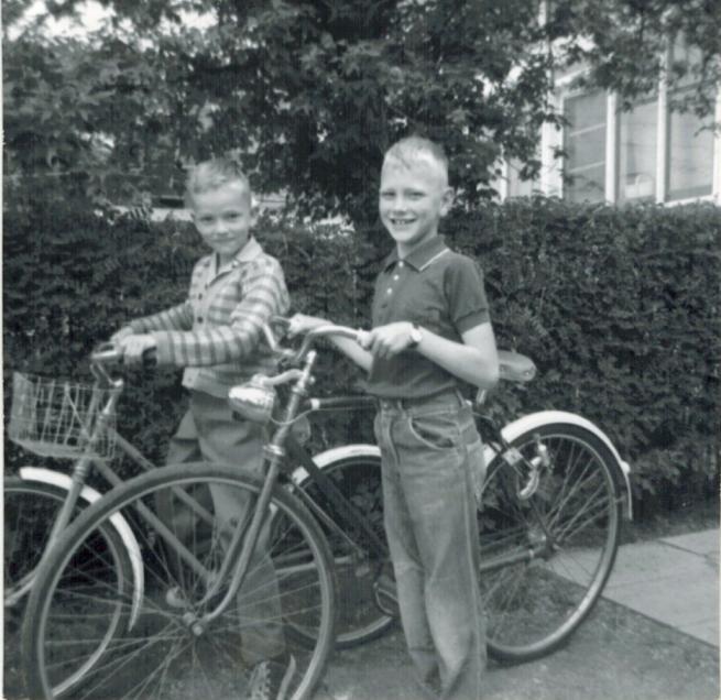 Biker buddies.