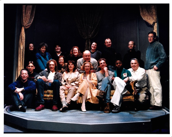 The way we were: cast and crew of Sitting on Paradise, playRites '96/ Photo by Trudi Lee (I think).