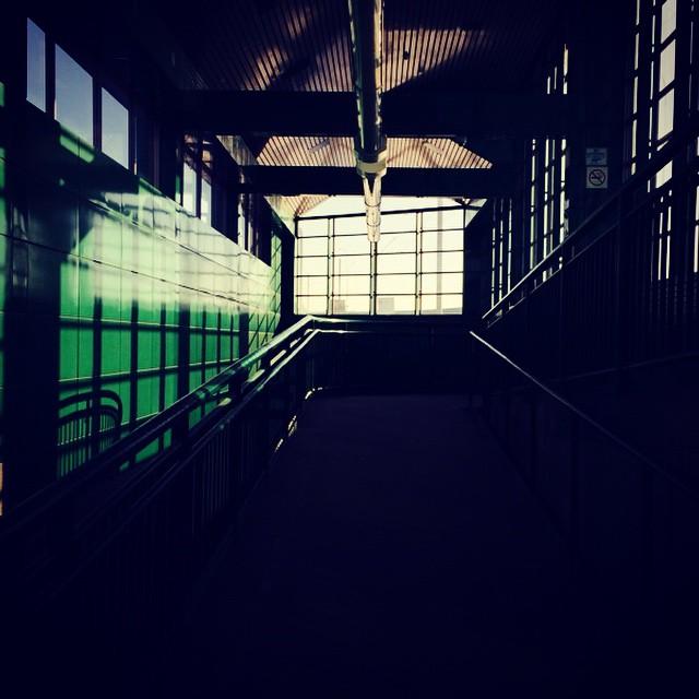 Maybe heaven looks like Barlow Station.